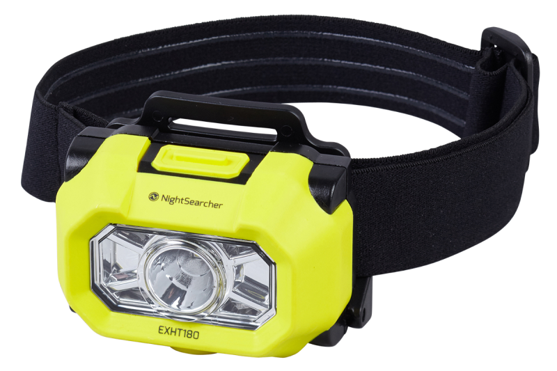 Intrinsically safe LED head torch