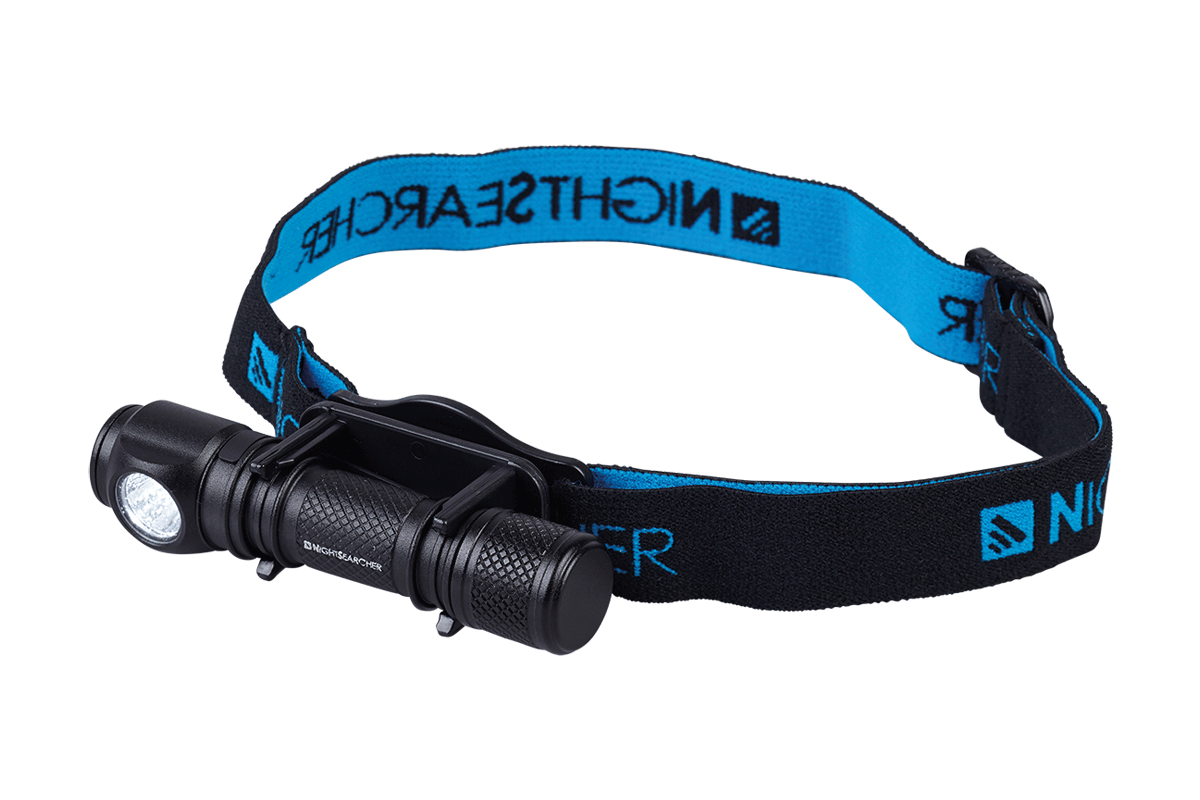 LED Flashlight or Lightweight Head Torch