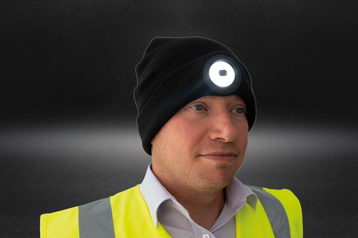 Beanie Head Torch - 150 Lumens