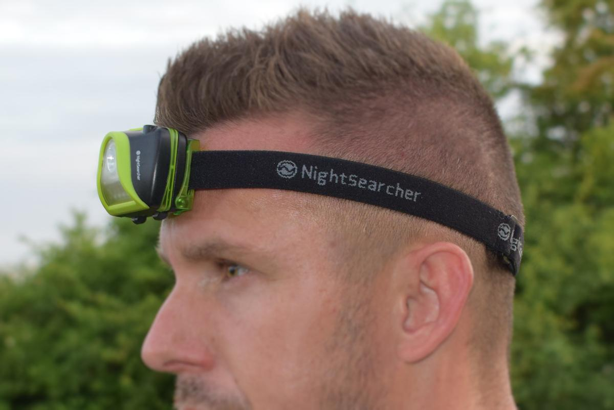 DarkStar - Head Torch with Light-sensor