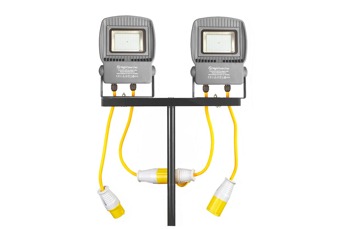 EcoStar Pro Linkable Floodlights