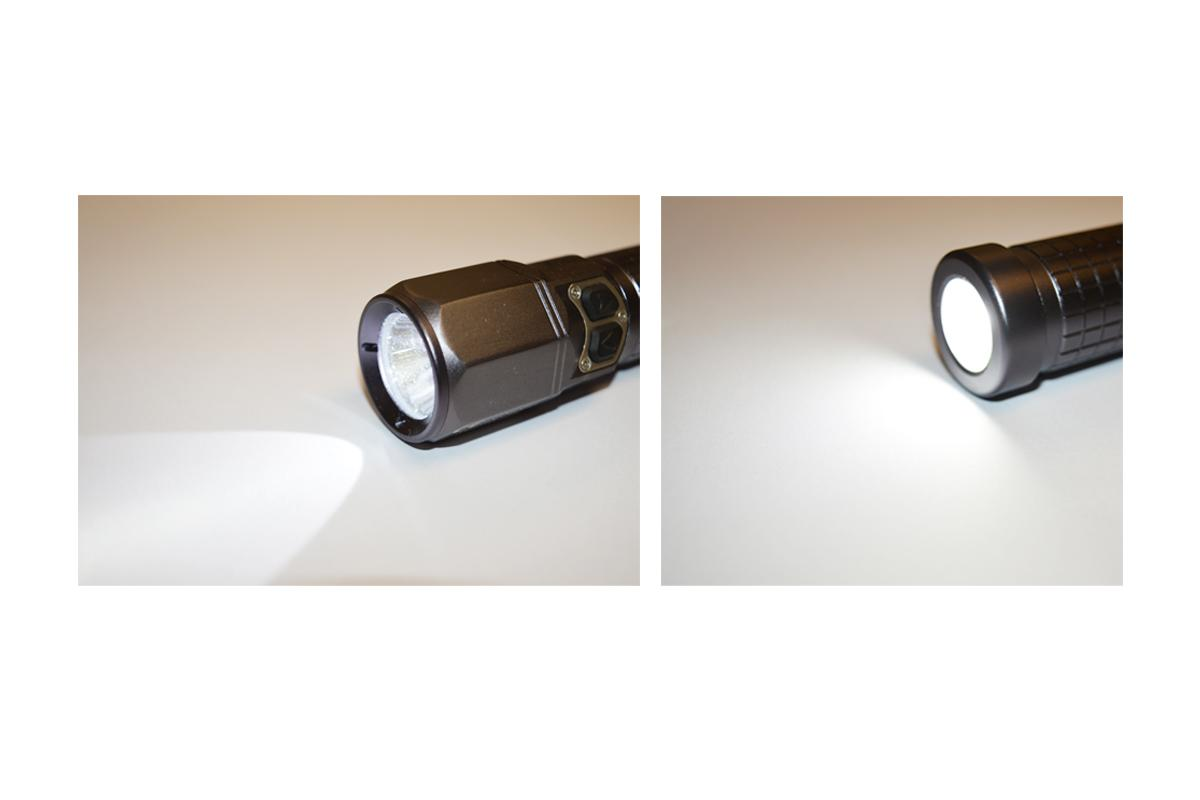 Rechargeable Atex Zone 1 • 2 Flashlight