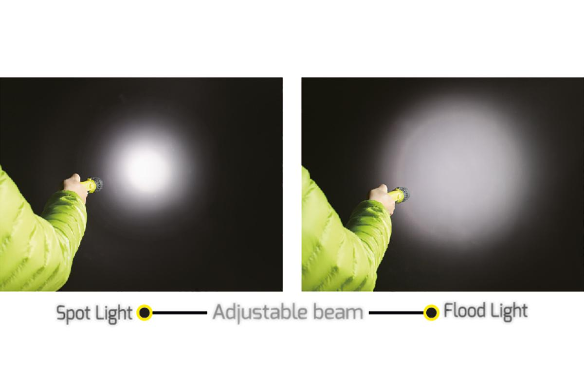 ZOOM ATEX FLASHLIGHT
