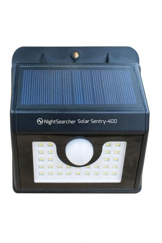 Solar Sensor Wall Light - No Wiring Required