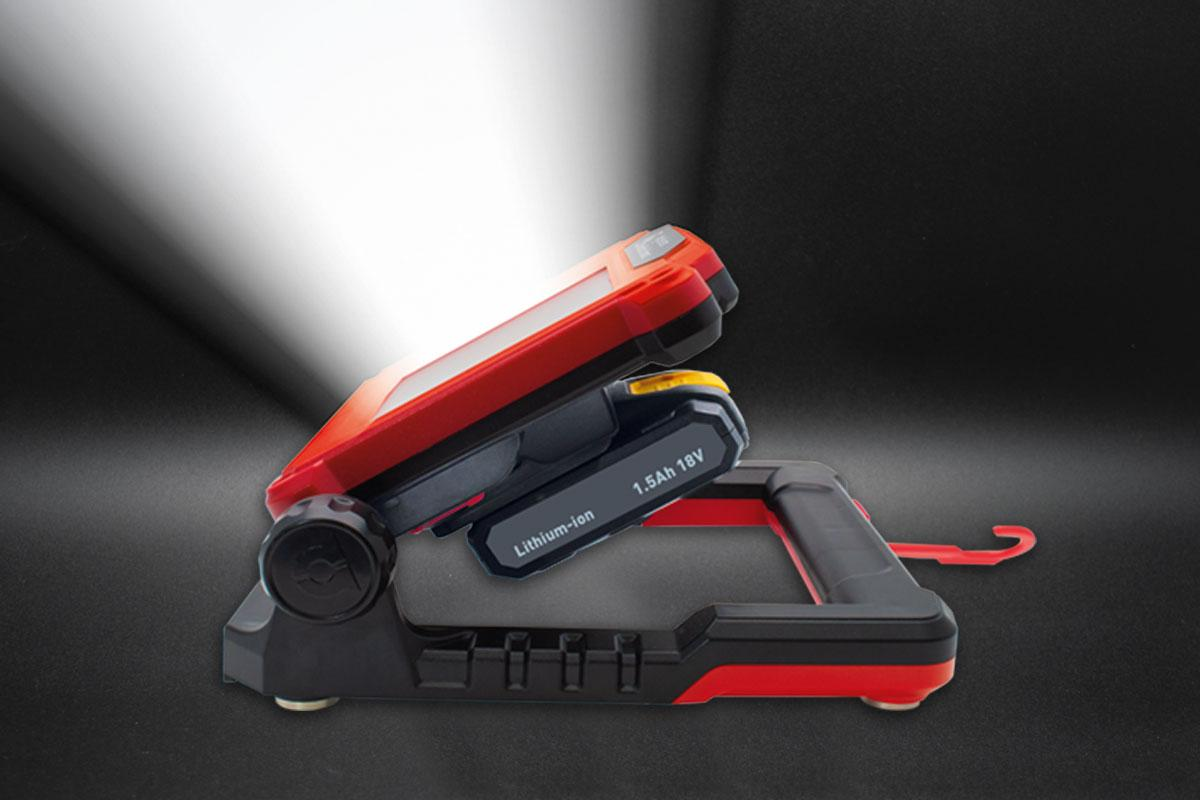 Designed To Operate From Power Tool Batteries