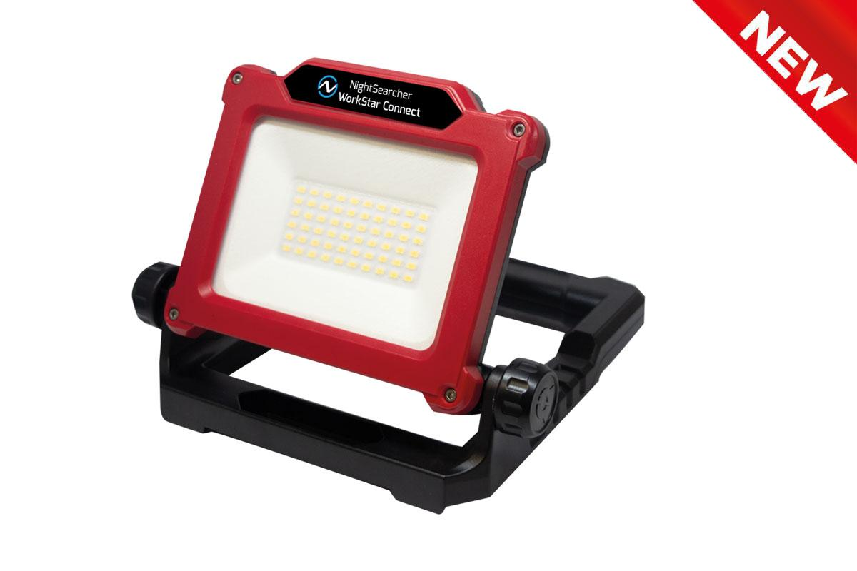 Work Light with Power Tool Adapter